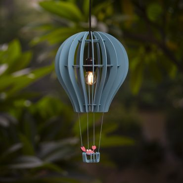 Buy Hot Air Balloon Shape Hanging Lamp online