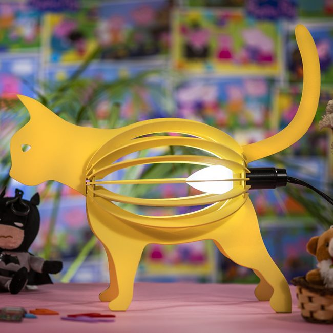 Buy Cat Shape Table and Floor Lamp online