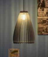 Buy Wooden Pendant Hanging Lamp (Big) online