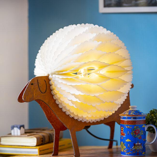 Buy Sheep Shape Desk and Floor Lamp online