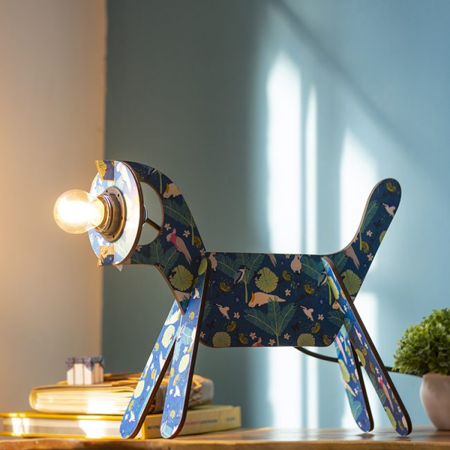 Buy Dog Shape Table and Floor Lamp online