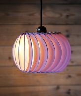 Buy Wind Turbine Shape Wooden Hanging Lamp online
