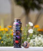 Handmade Meena Art Pure Copper Water Bottle