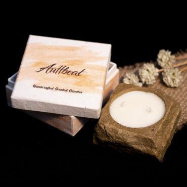 Buy Handmade Sandalwood Scented Candle
